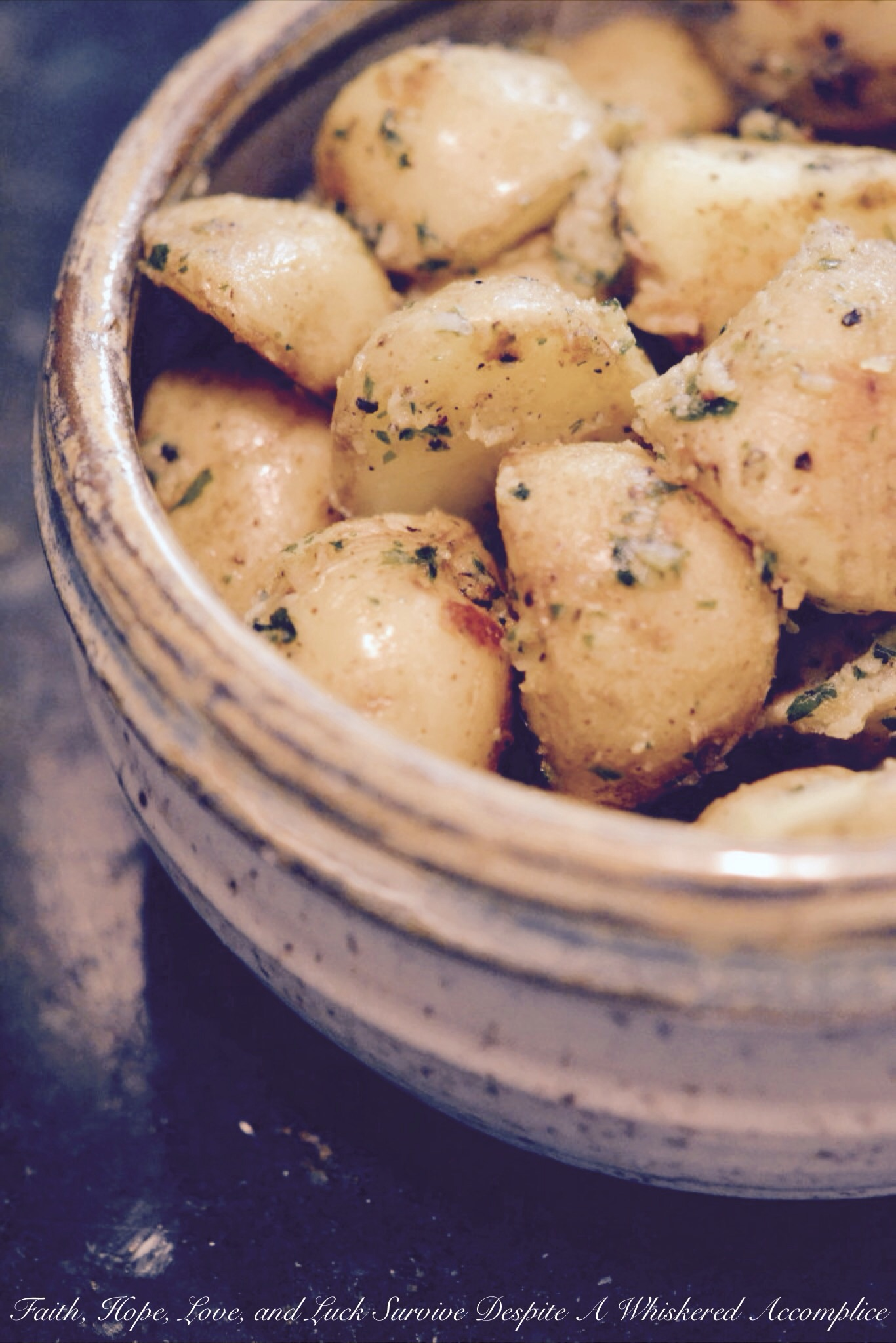 Boiled Crusted Potatoes