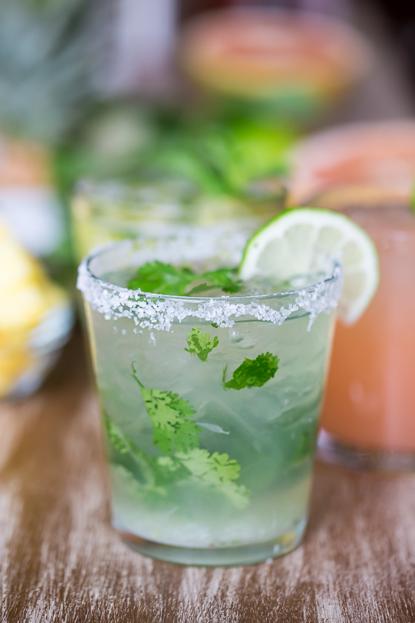 Cilantro Margarita | Faith, Hope, Love, and Luck Survive Despite a Whiskered Accomplice