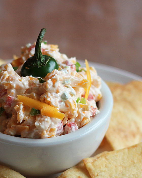 Jalapeno Pimento Cheese | Faith, Hope, Love, and Luck Survive Despite a Whiskered Accomplice