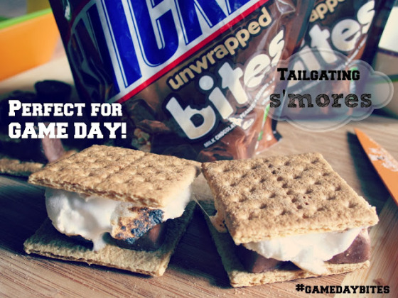 Gameday Snickers S'mores | Faith, Hope, Love, and Luck Survive Despite a Whiskered Accomplice