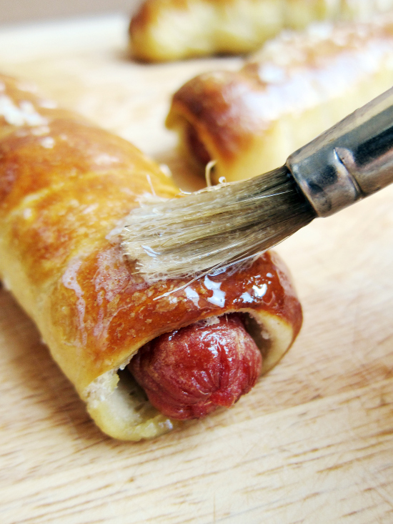 Pretzel Hot Dogs | Faith, Hope, Love, and Luck Survive Despite a Whiskered Accomplice