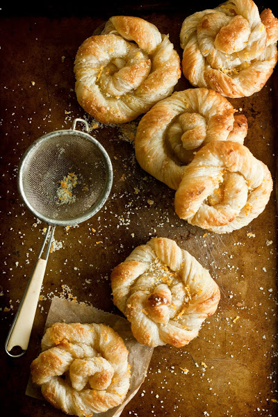 Orange Sugar Danish Pastries | Faith, Hope, Love, and Luck Survive Despite a Whiskered Accomplice