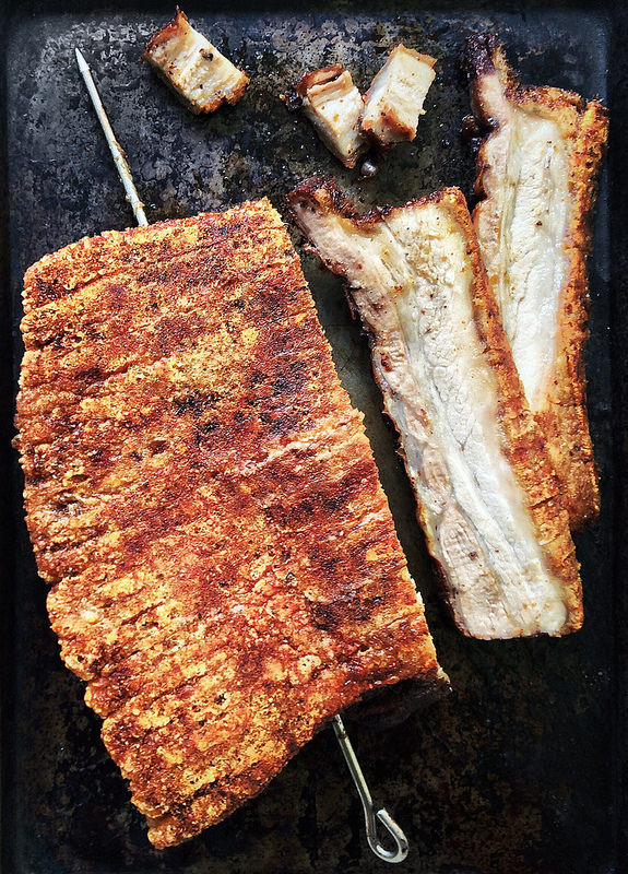 Chinese Crispy Roast Pork Belly | Faith, Hope, Love, and Luck Survive Despite a Whiskered Accomplice
