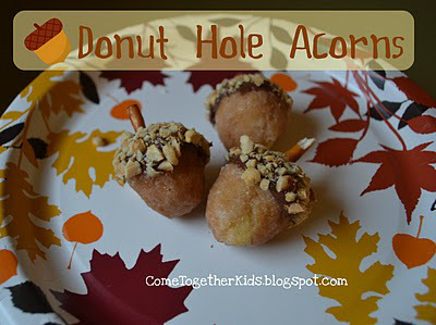 Donut Hole Acorns | Faith, Hope, Love, and Luck Survive Despite a Whiskered Accomplice