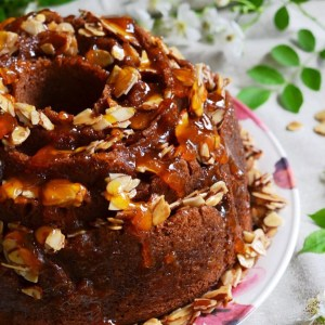 Instagram - Honey Almond, Apricot, and Cream Cheese Filled Breakfast Cake | Faith, Hope, Love, and Luck Survive Despite a Whiskered Accomplice