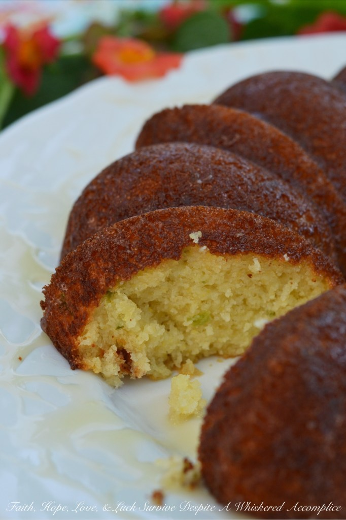 Southern Honey Drenched Jalapeño Cornbread   Faith, Hope, Love, and Luck Survive Despite a Whiskered Accomplice