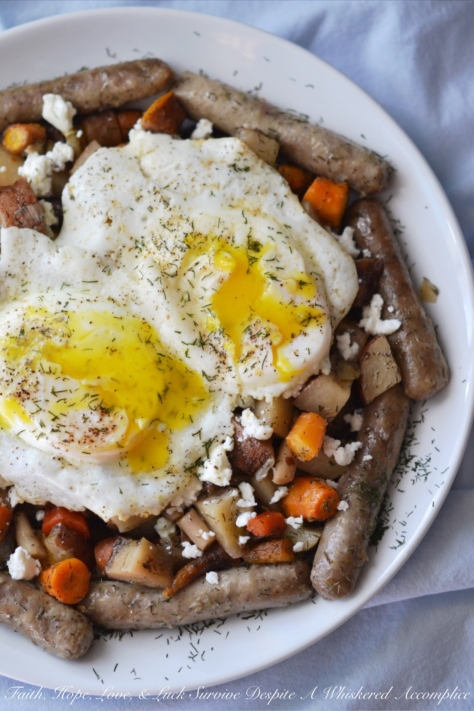 Summer Garden Breakfast Crockpot Hash