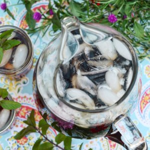 Instagram - Summer Blueberry Crockpot Iced Tea | Faith, Hope, Love, and Luck Survive Despite a Whiskered Accomplice