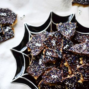 Instagram - Spooktacular Halloween Cracker Candy | Faith, Hope, Love, and Luck Survive Despite a Whiskered Accomplice