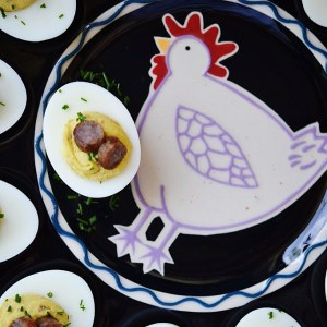 Instagram - A Deviled Egg for Every Season | Faith, Hope, Love, and Luck Survive Despite a Whiskered Accomplice