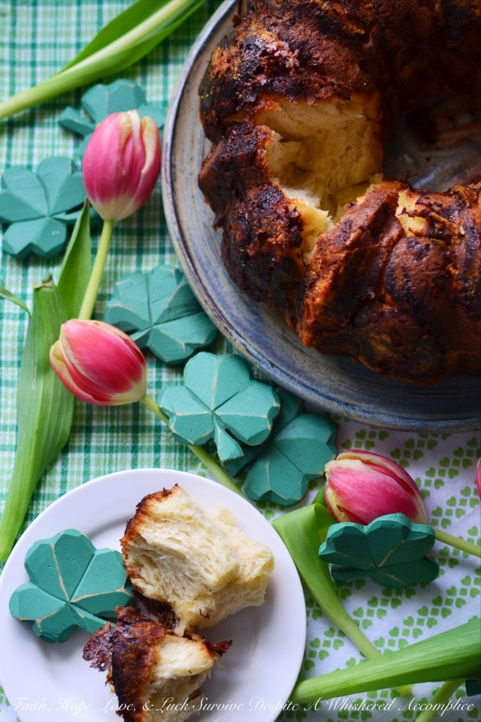 Irish cheddar, beer, and butter help to make this pull-apart yeasted bread Bundt an instant fan favorite.