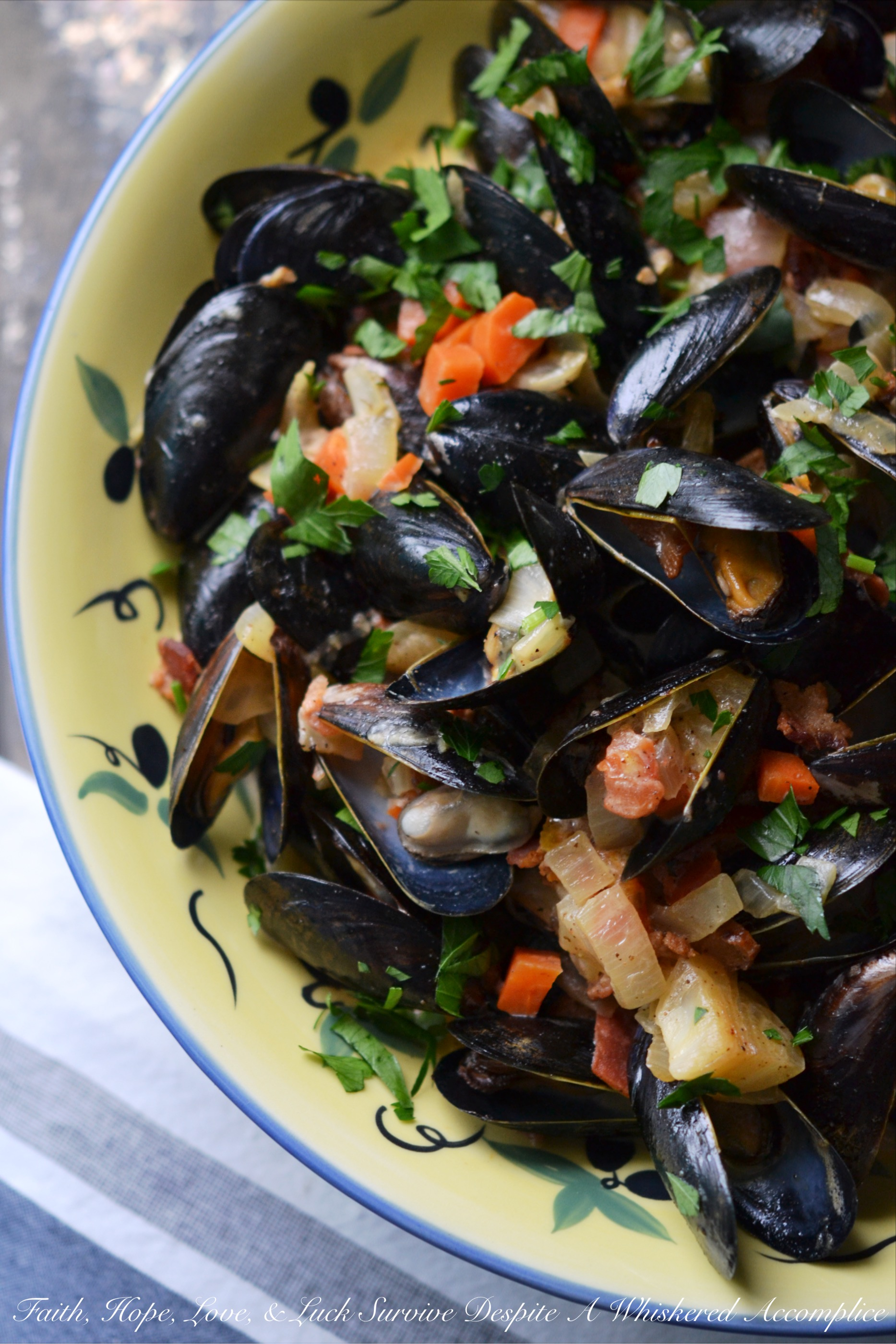 Drunken Irish Mussels