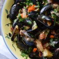 Heavy whipping cream, Irish butter, and Jameson Irish Whiskey make these mussels delightfully decadent and sinfully irresistible.