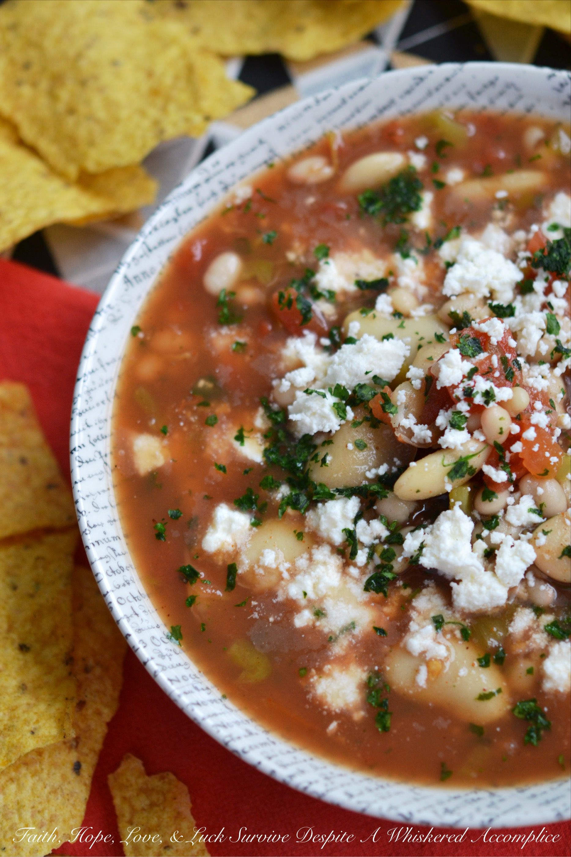 10-Minute Mexican Bean Soup – #SoupSwappers
