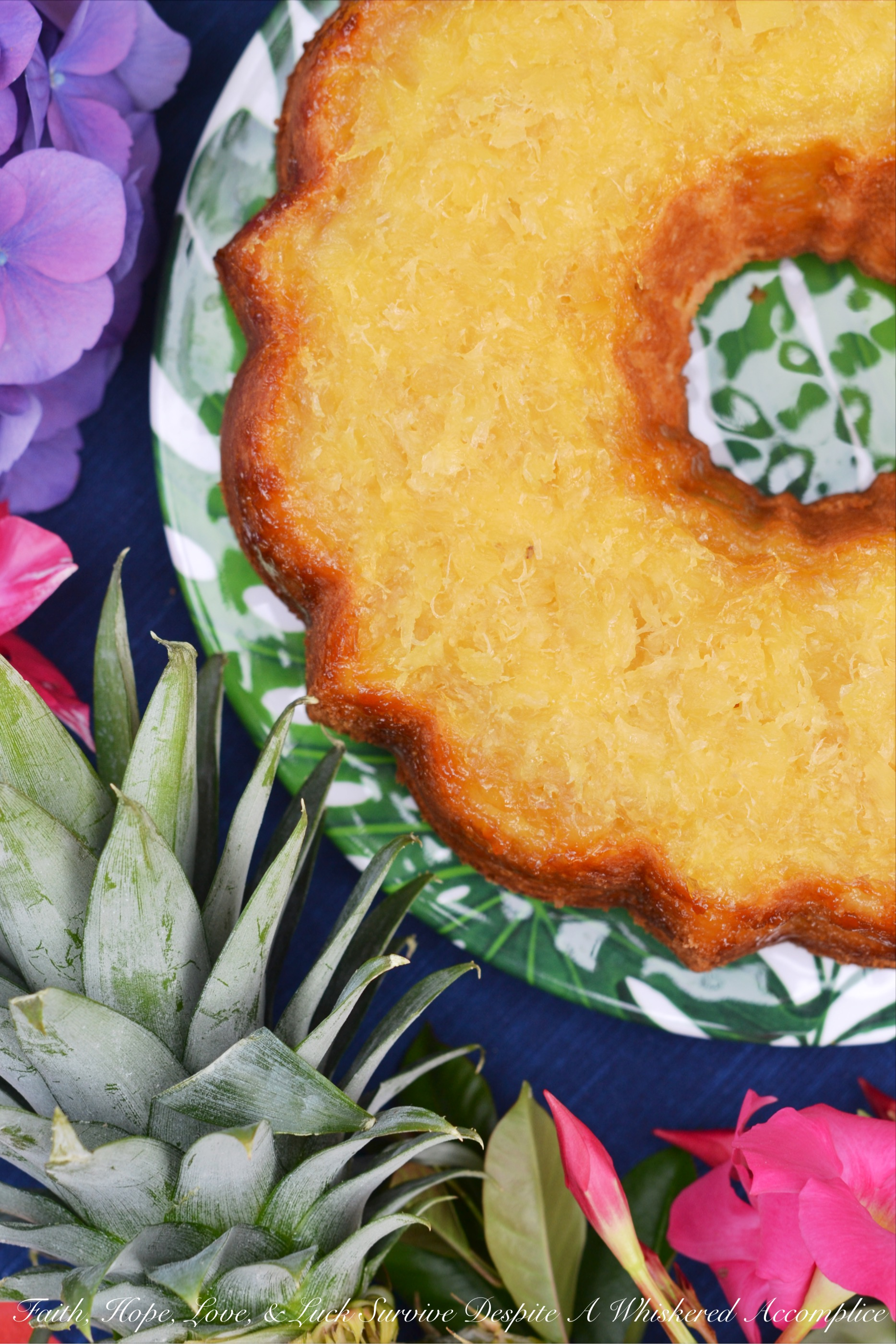 Aloha Hawaiian Pineapple Butter Cake – #BundtBakers