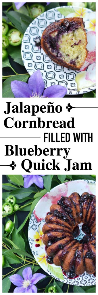 Jalapeños and fresh blueberries come together in this recipe to make the most deliciously sweet and spicy cornbread you've ever tasted.