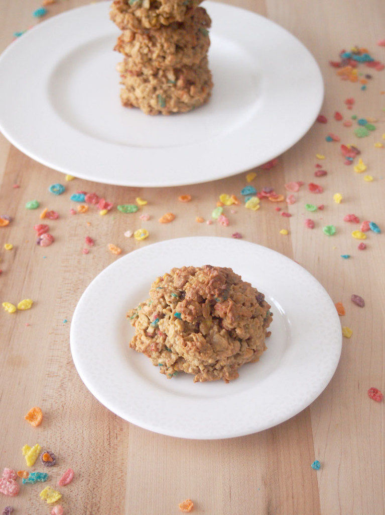 Fruity Pebbles Breakfast Cookies - Pies and Plots