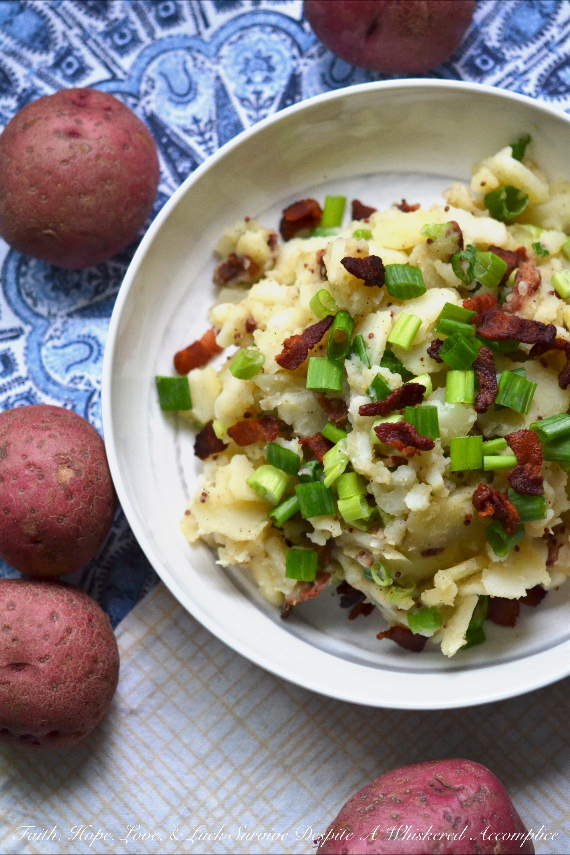 Hot German Potato Salad with Bacon