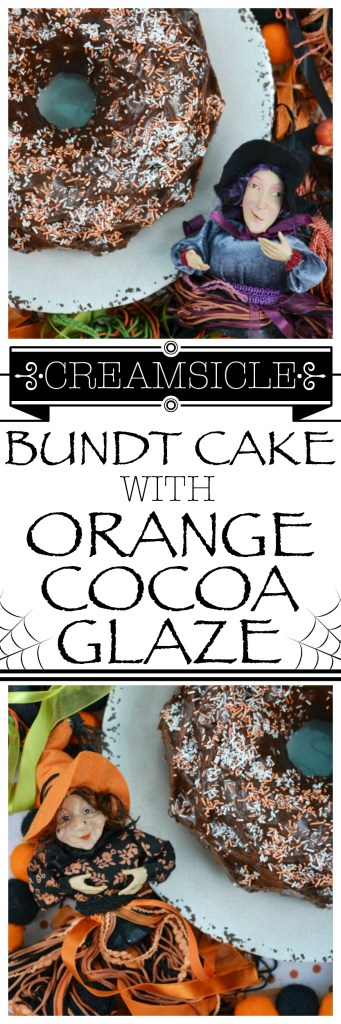 Orange cream soda helps to make this Bundt cake moist and delicious while adding just the right hint of flavor to the cocoa glaze drizzled on top of it.