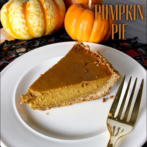 Pumpkin Pie with Pumpkin Spice Graham Cracker Crust - Kelly Lynn's Sweets & Treats | Bring something new to your Thanksgiving table with this November roundup of unique holiday recipes from some of your favorite food bloggers.