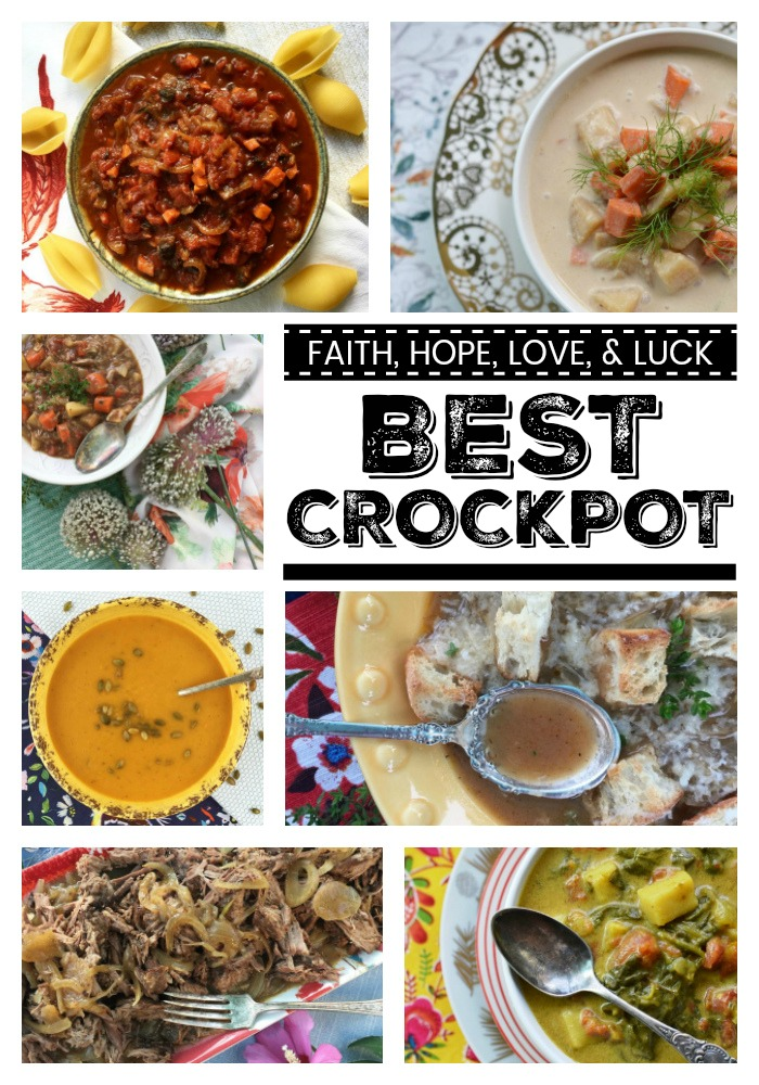 We're counting down the days until New Year's 2018 by sharing our best and favorite most mouth-watering and time-saving crockpot recipes of the year 2017.