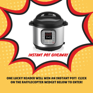 Instant Pot Giveaway - Celebrate the month of February with this Valentine's Day themed Recipe Round-Up. There's sure to be something your sweetheart will love.