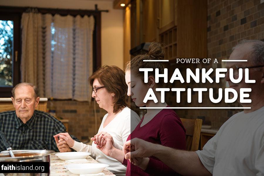 Power of a thankful attitude