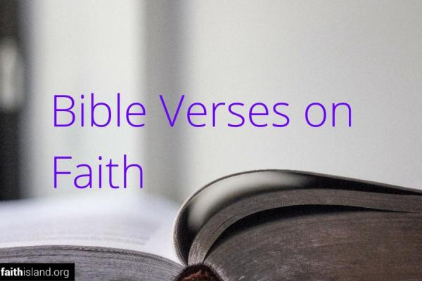 Bible verses on faith