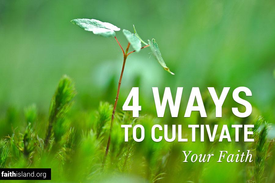 Four ways to cultivate your faith