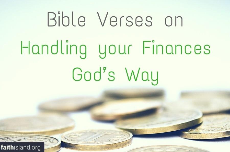 Bible Verses on Handling your Finances God's Way