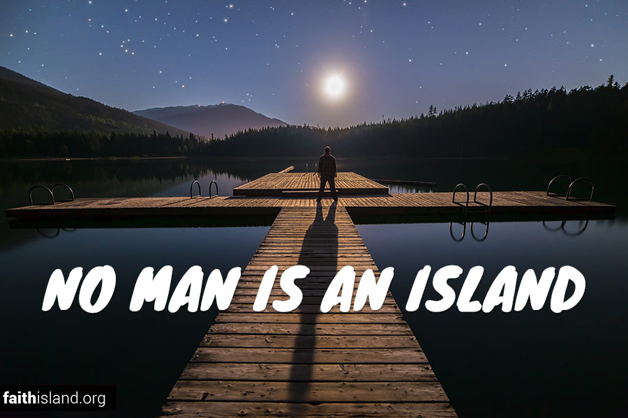 No man is an island