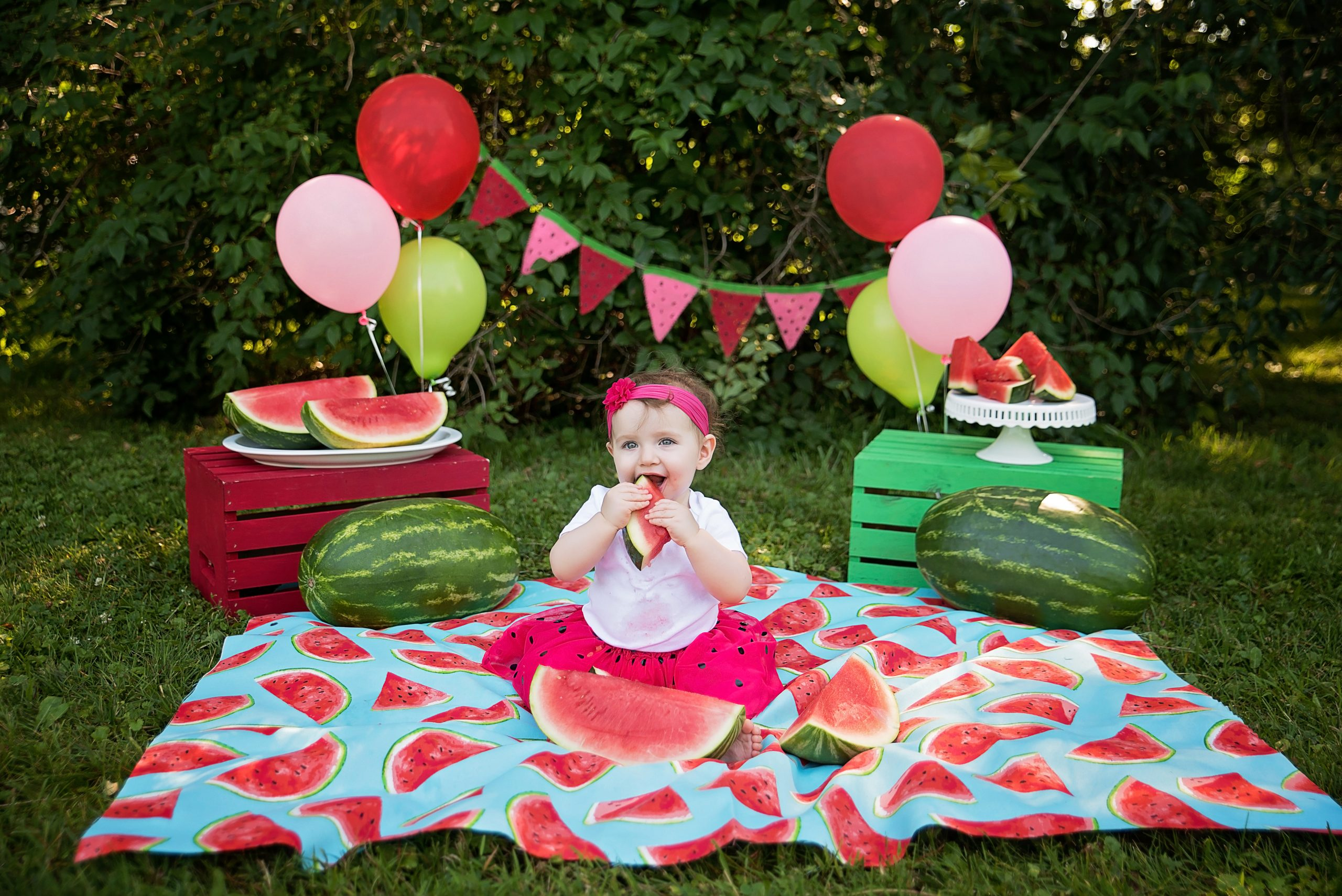 watermelon themed first birthday