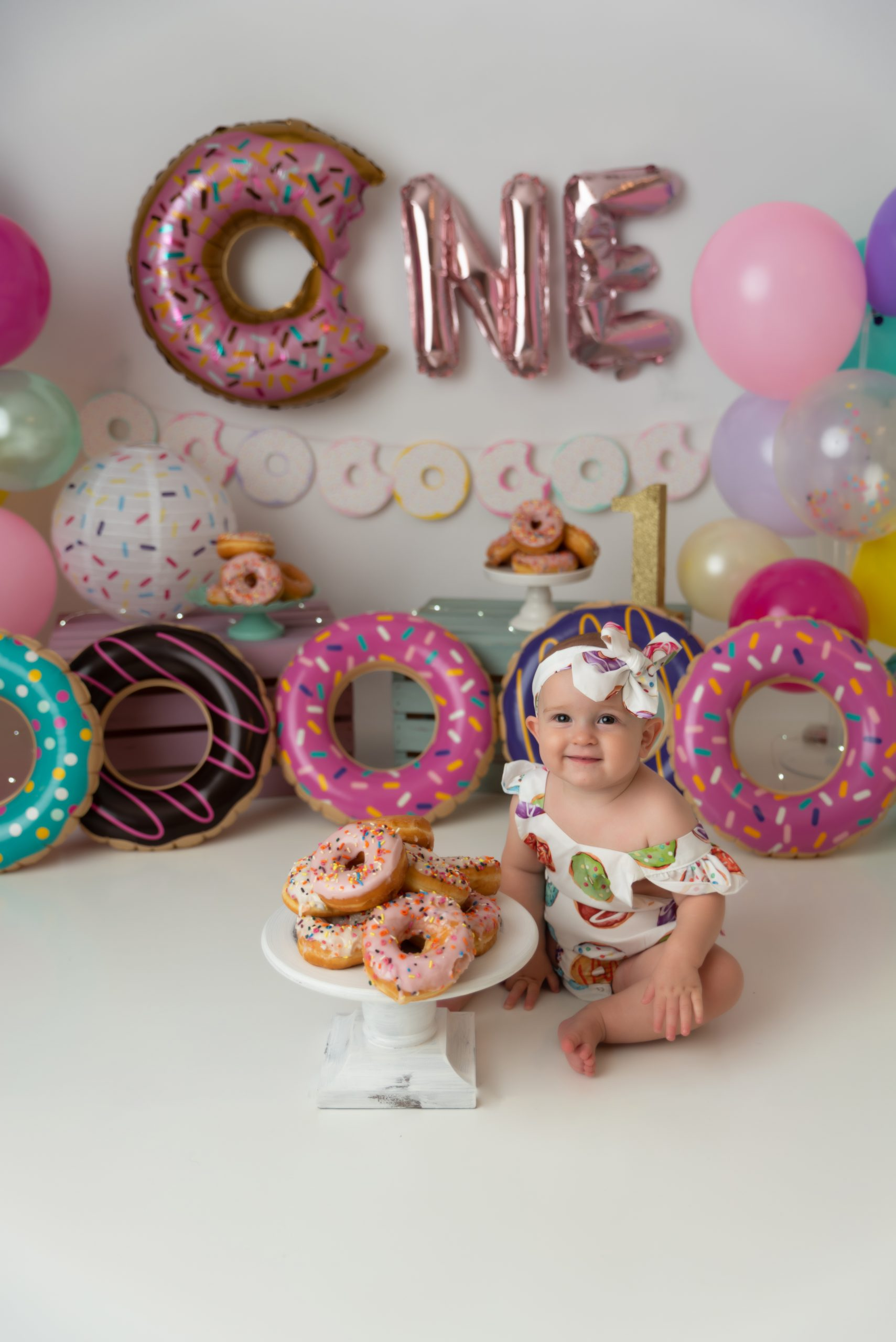donut first birthday pictures