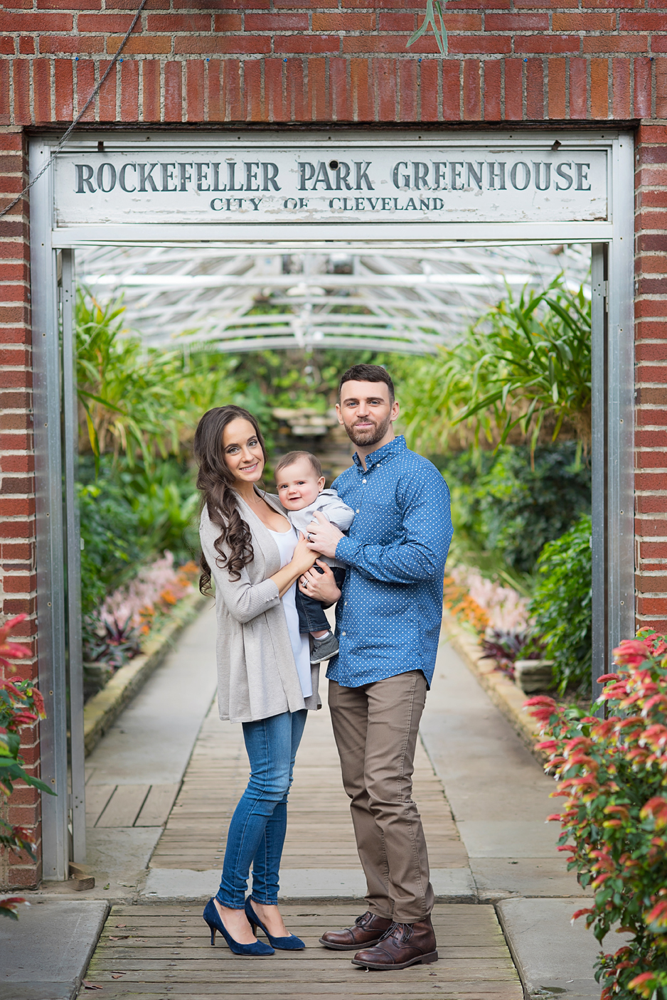 Rockefeller Greenhouse Family photos