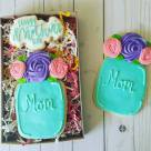Mothers Day Cookies in Box