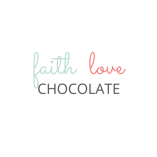 faith love and chocolate logo