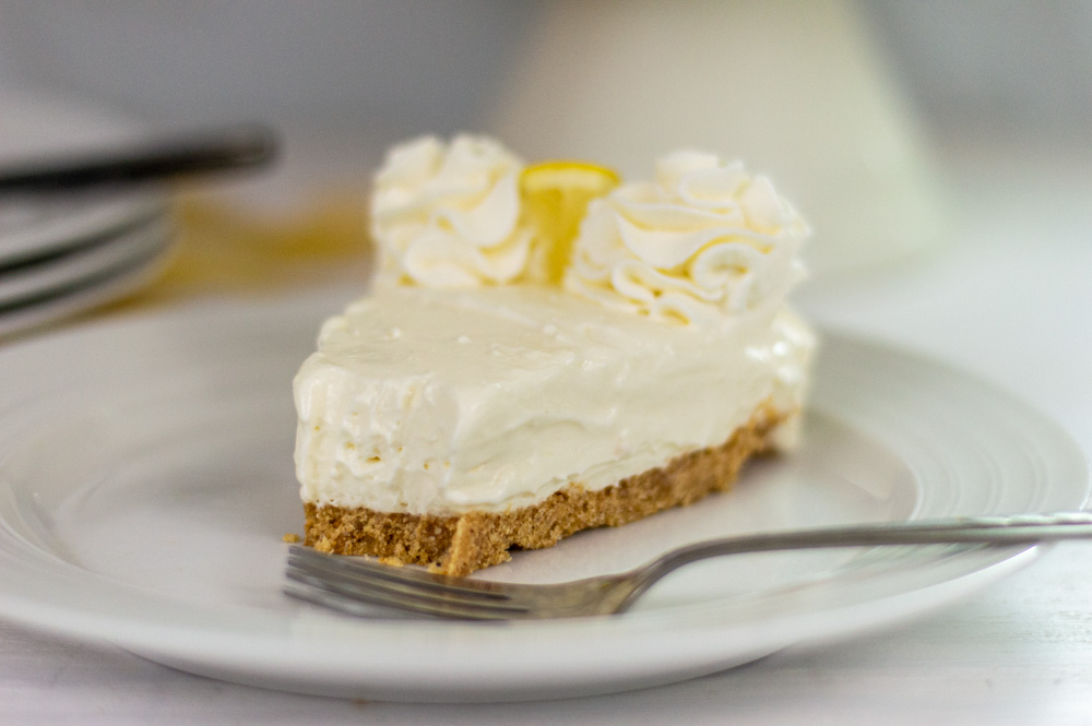 no bake lemon cheesecake