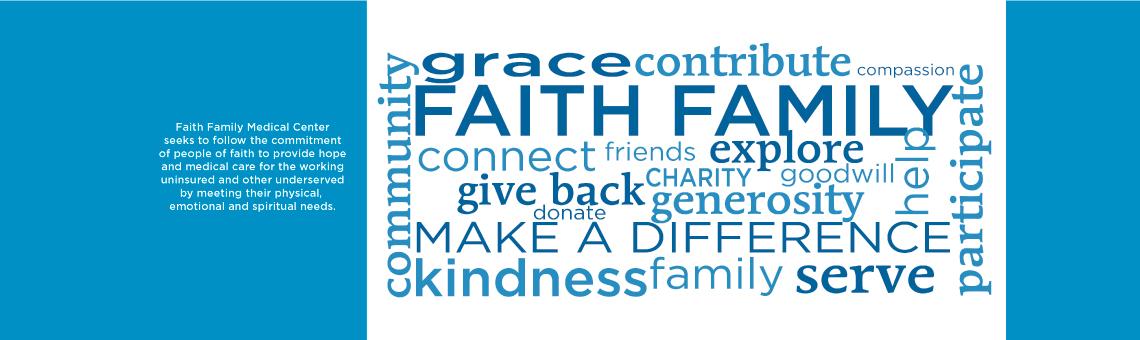 Support Faith Family