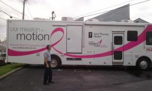 Mobile Mammograms at Faith Family