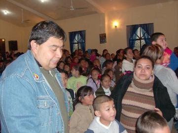 A Christmas fiesta in Miguel Aleman