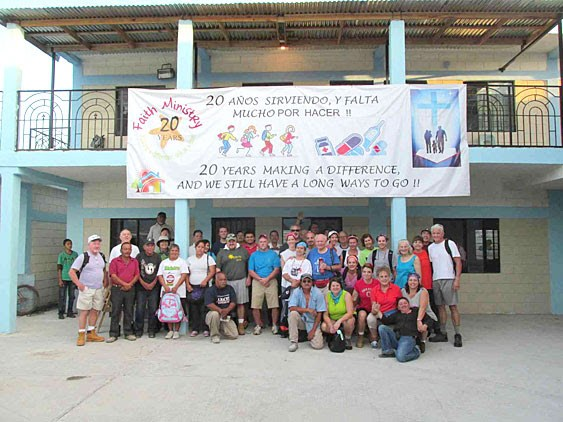 Mission work groups ready to work in Reynosa