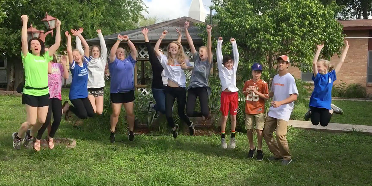 The kids from University Presbyterian in Austin agreed this was their best spring break ever