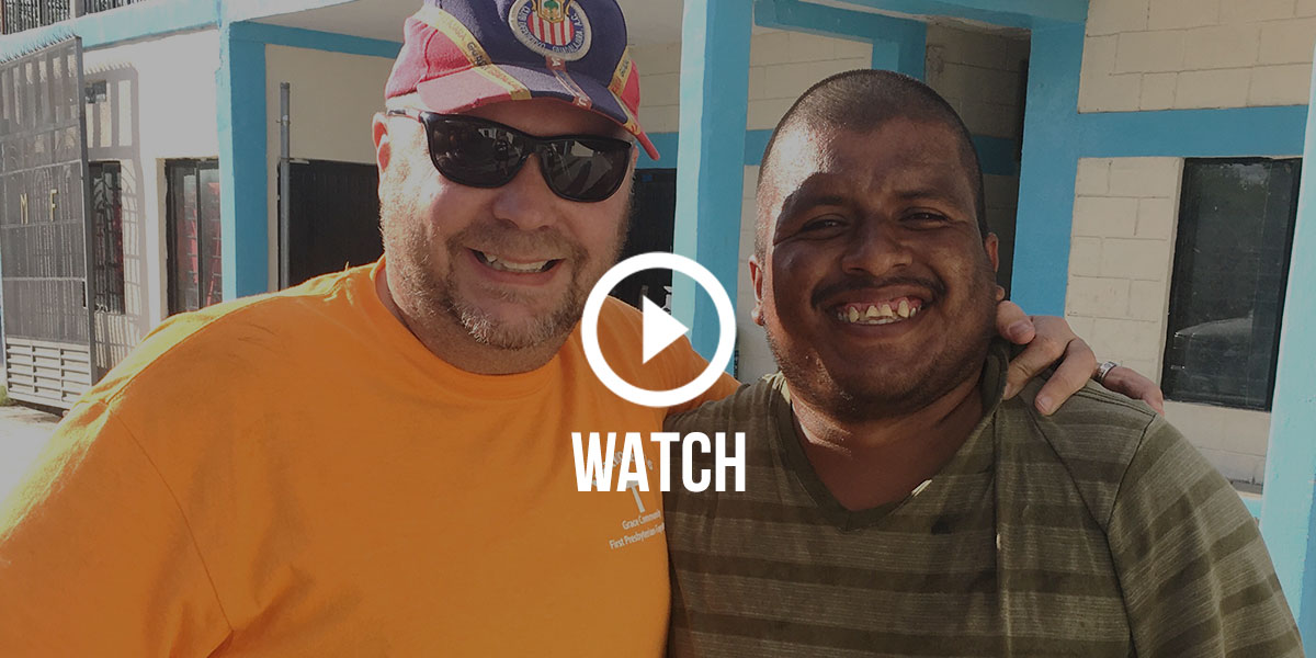 This month Keith from Grace Community in Raleigh was reunited with his amigo Chuky for the first time in 10 years, and it was a special reminder of the significance and sacredness of the friendships formed here in Mexico. Click here to watch.