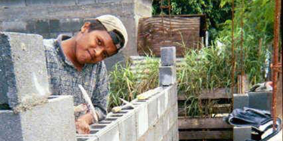 Julio or Chuky working in Reynosa when he was young