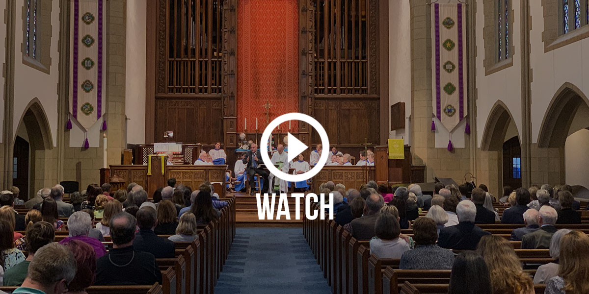 Click to watch the service that David and Nathan copreached at Myers Park United Methodist Church