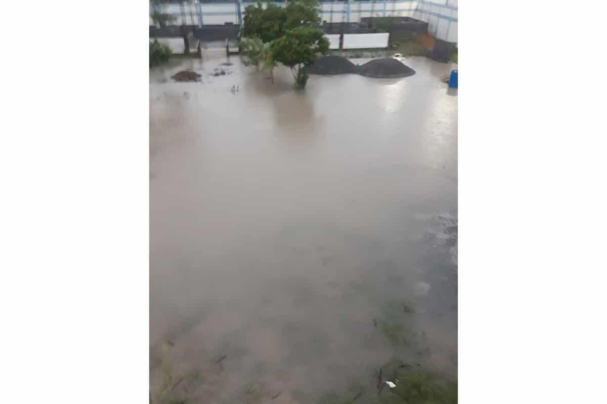 Flooding in Naranjito from Hurricane Hanna