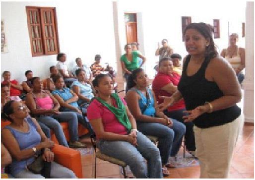 Staff Training in CONANI!