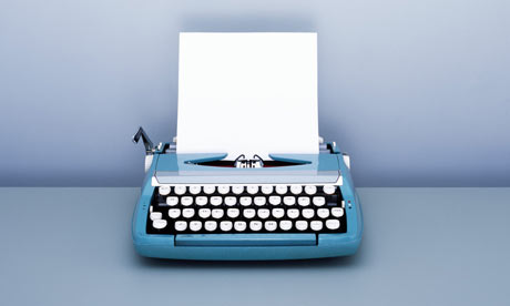 Blank Paper in Typewriter by Korjarie Matiessa