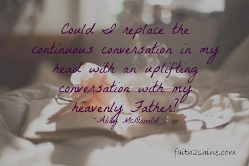 Uplifting Conversation
