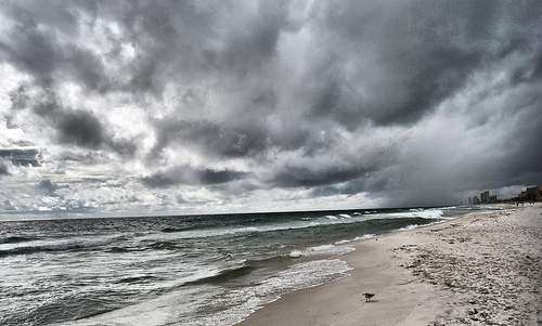 Storm in Panama City by Kim Hill